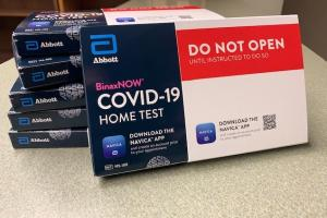Covid-19 Test Kits available